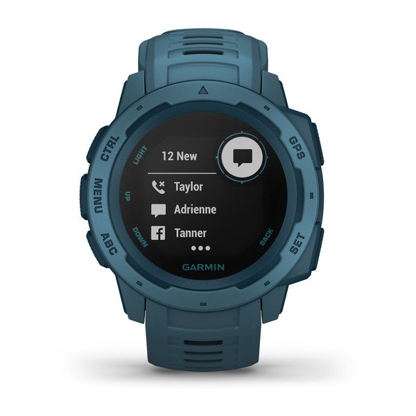 Garmin Instinct GPS  Watch-Lakeside Blue
