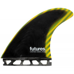 Futures Pyzel Control Tri Fin Set-Large
