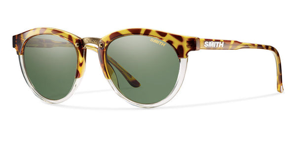 Smith Questa Sunglasses-Amber Tort/Grey Green Carbonic Polar