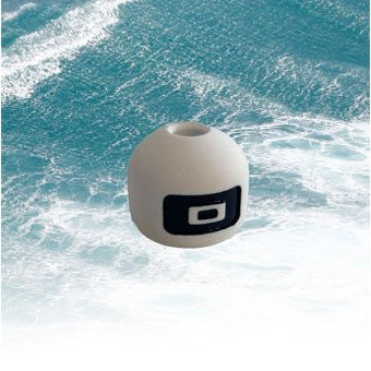 Core Sensor QR Stopper Ball White Parrel Bead