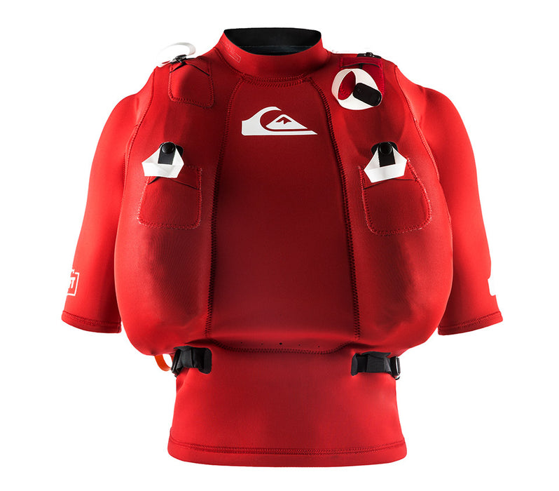 Quiksilver Highline Airlift Vest-Quik Red