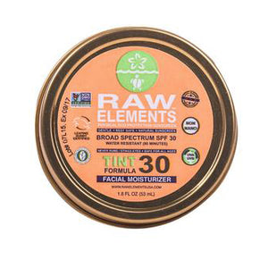 Raw Elements Tinted Facial Moisturizer Sunscreen-SPF 30