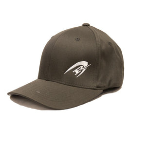 REAL Corp Flexfit Hat-Dark Grey