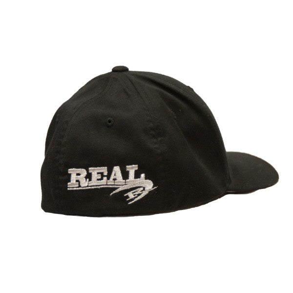 REAL Corp Flexfit Hat-Black