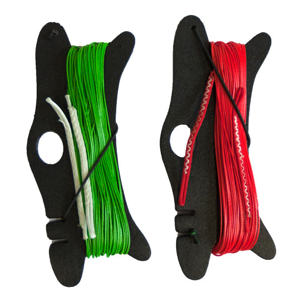 Slingshot Replacement Trainer Kite Line Set-Red/Green