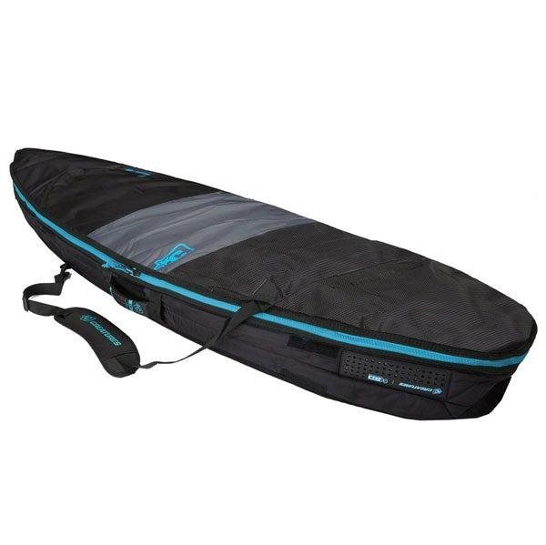 Creatures Shortboard Day Use Bag-Charcoal Cyan-6'7""