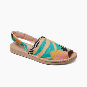 Reef Escape Sling Prints Sandal-Multi Palms