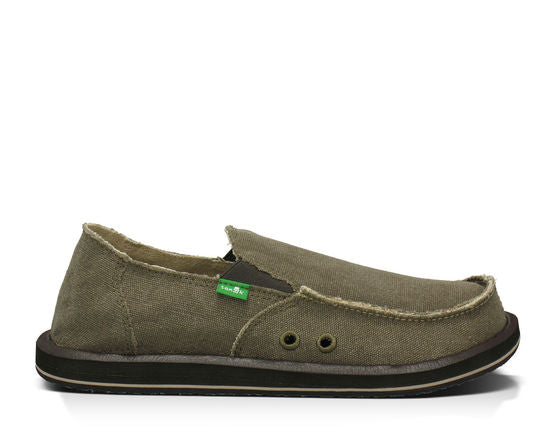Sanuk Vagabond Shoe-Brown