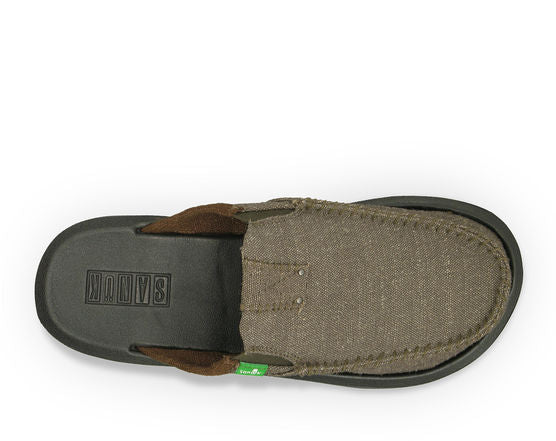 Sanuk You Got My Back II Shoe-Army Green