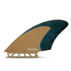 Futures Dave Rastovich Keel Twin Fin Set
