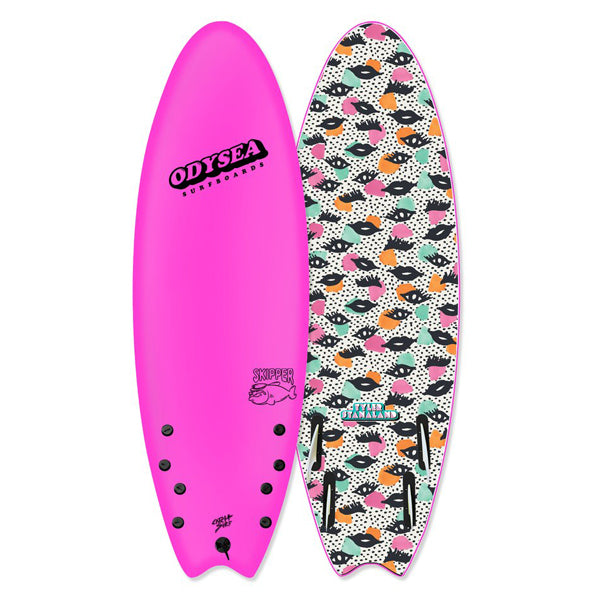 "Catch Surf Skipper Pro 6'0""-Hot Pink"