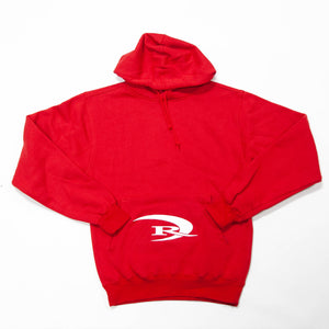 REAL Team 2.0 Hooded Sweatshirt-Red