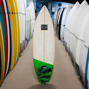 USED Notion Surfboard 5'8""