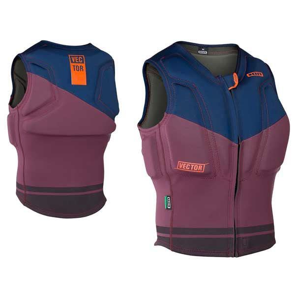 ION Vector Vest-Blue/Wine