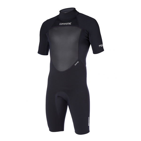 Mystic Star Shorty 3/2mm BZ Flatlock Springsuit-Black