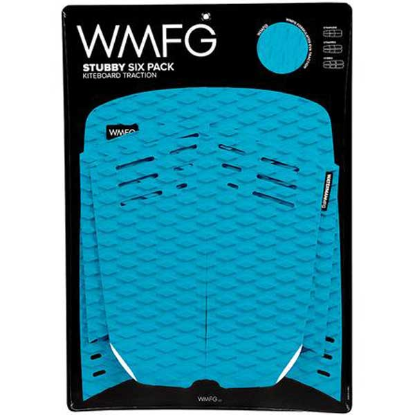 WMFG Stubby 2.0 Six Pack Traction Pad-Teal