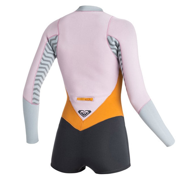 Roxy XY 2MM Front Zip L S Springsuit-Light Orchid Fog Blue — REAL  Watersports e5e1c9751