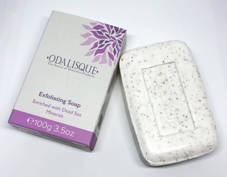 Exfoliating Soap - Natural Dead Sea Skin Care products - odalisque California