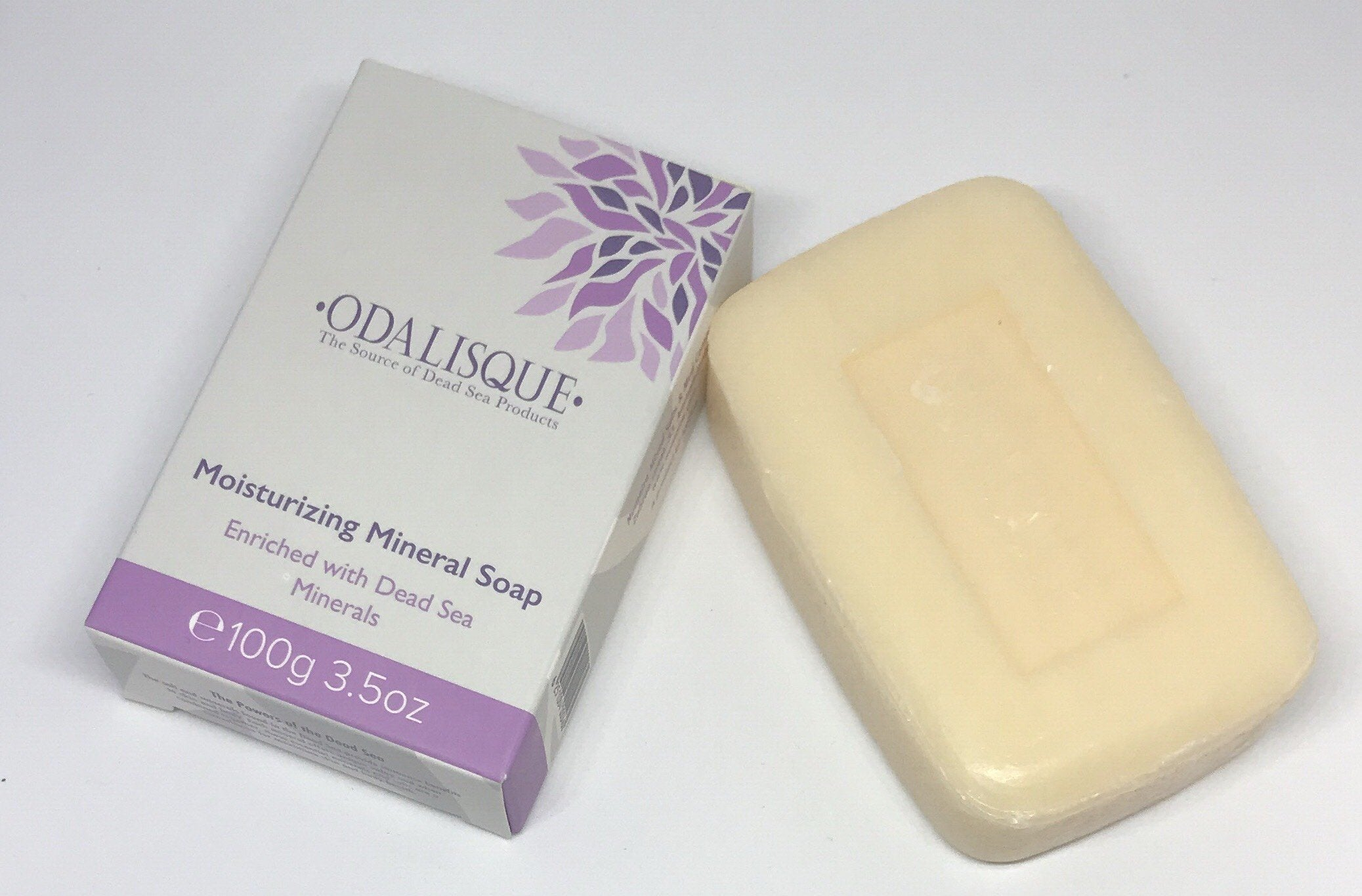 Moisturizing dead sea mineral soap -Dead Sea skin care Products-Odalisque California