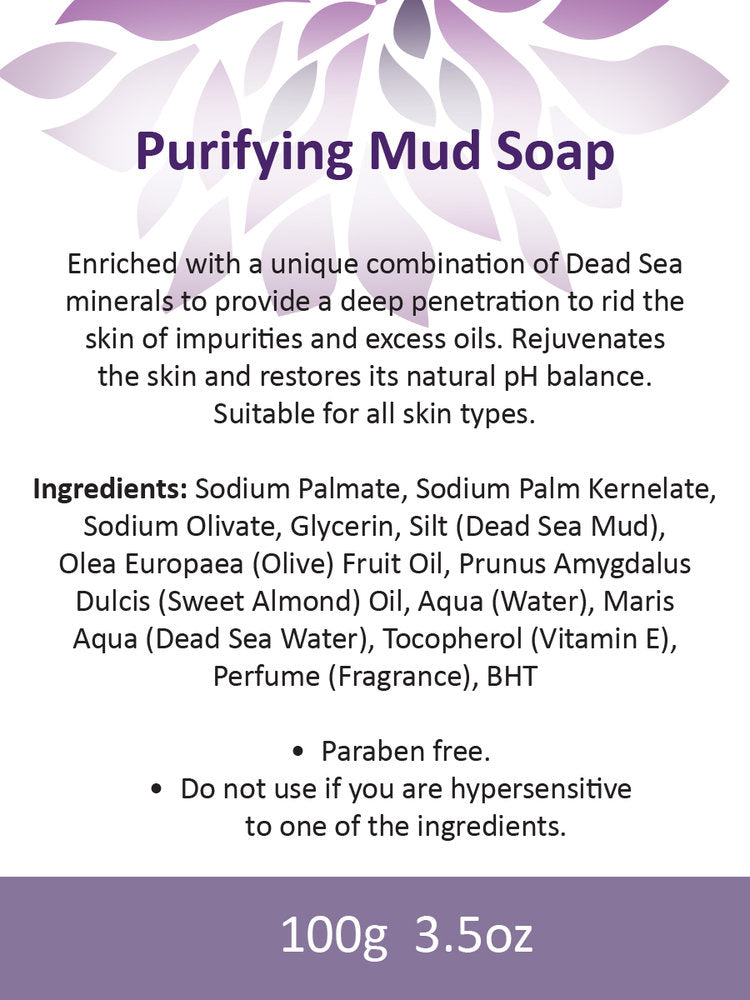 PURIFYING DEAD SEA MUD SOAP