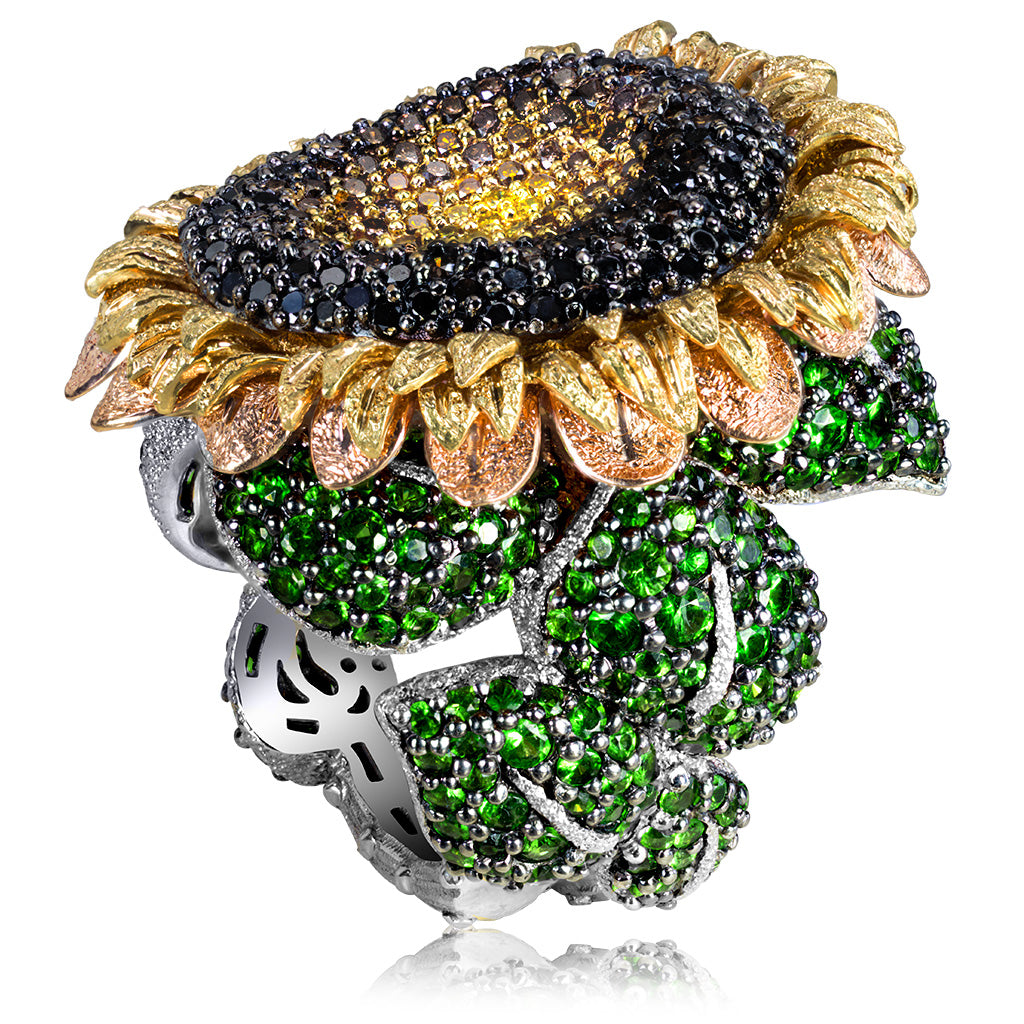 Alex Soldier Sunflower Ring