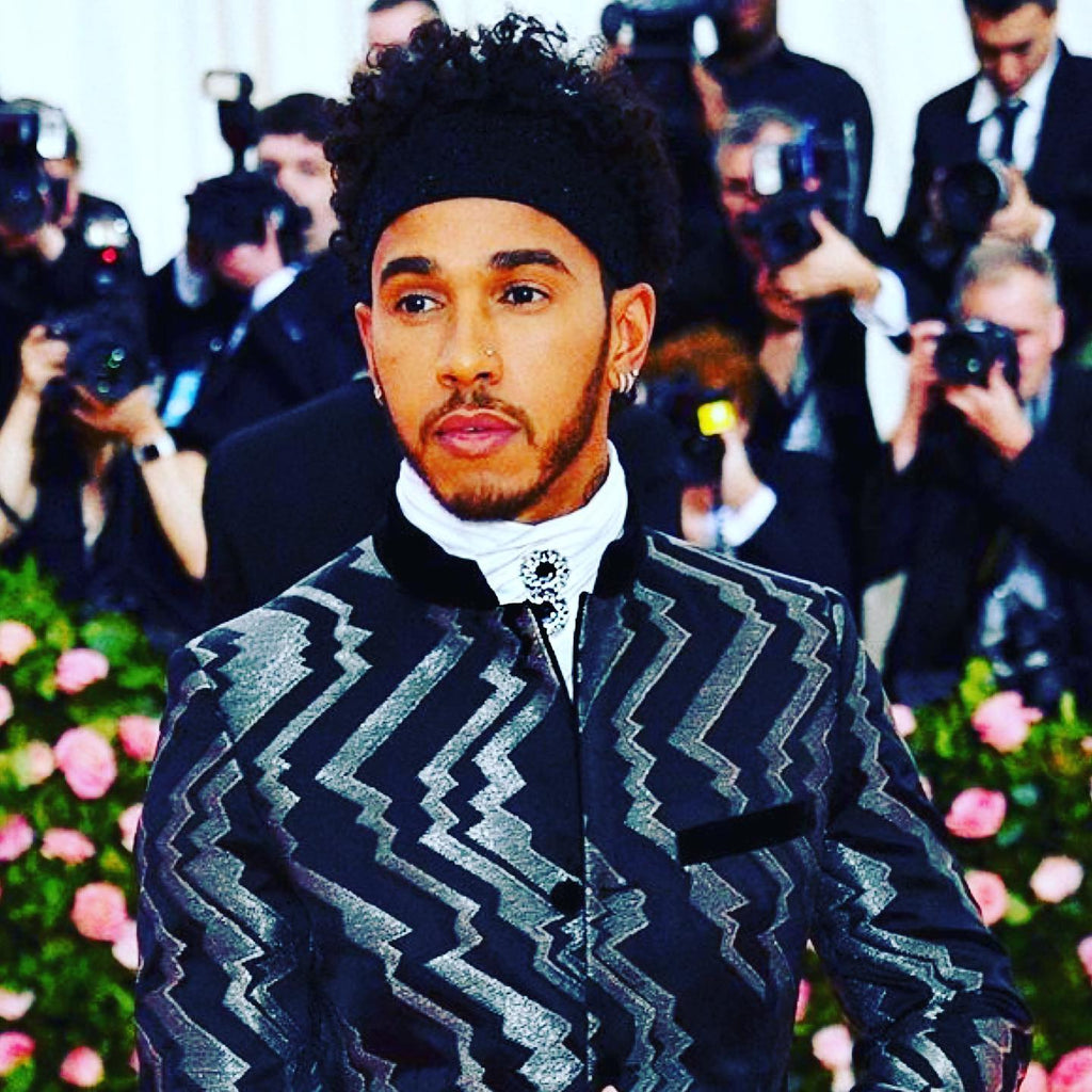 Lewis Hamilton rocks Alex Soldier at 2019 Met Gala