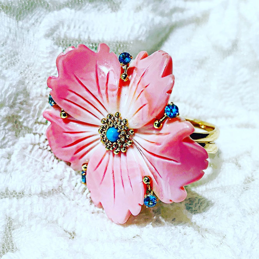 Alex Soldier Blossom Ring