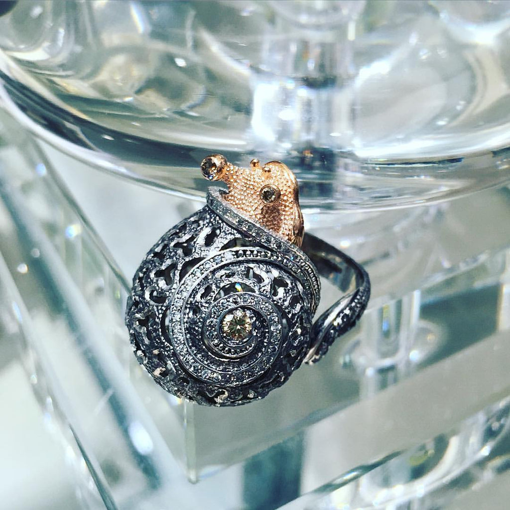Alex Soldier Codi The Snail Ring