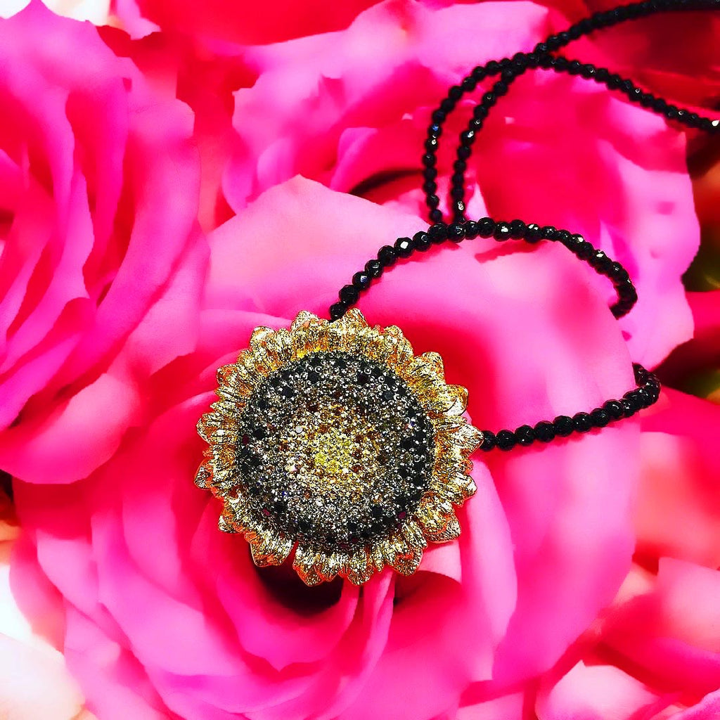 Alex Soldier Sunflower Pendant