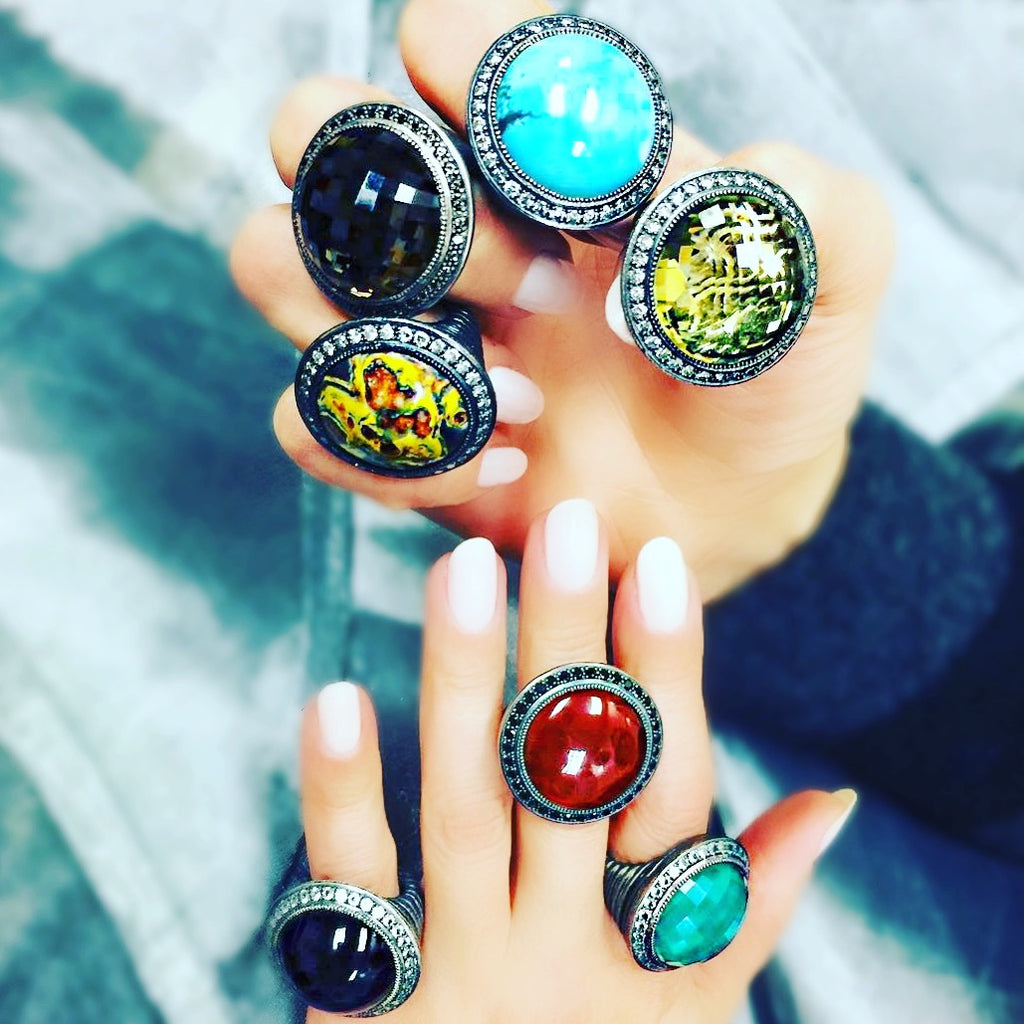 Alex Soldier Symbolica Rings