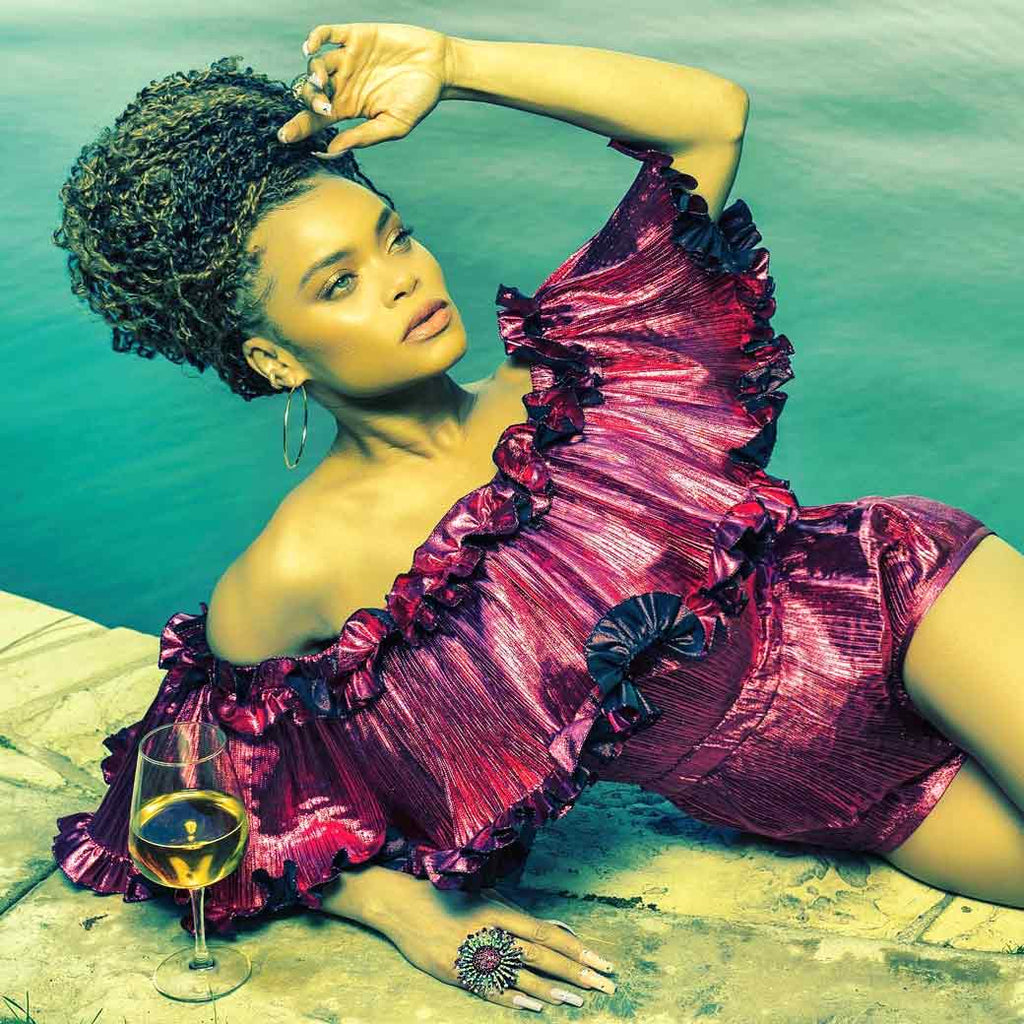 Andra Day in Alex Soldier Jewels