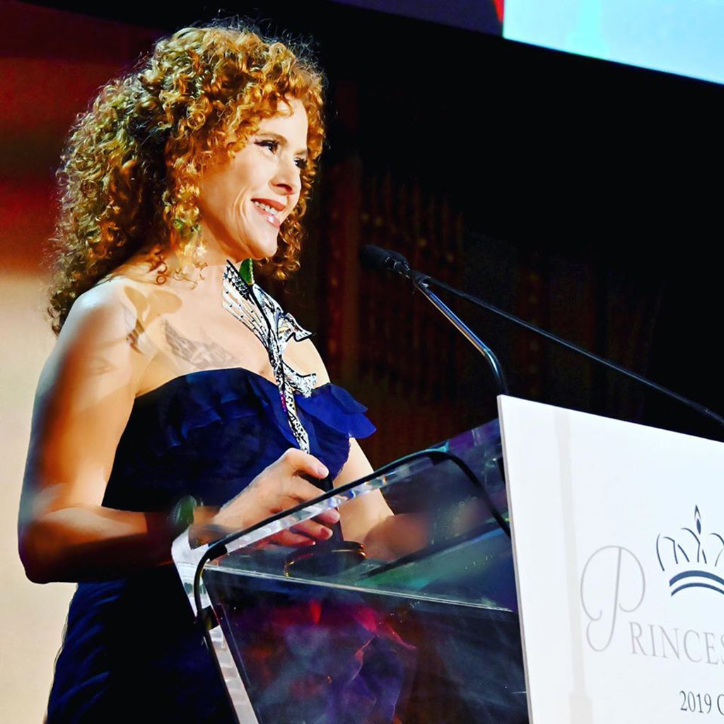 Bernadette Peters receives Princess Grace Award by Alex Soldier