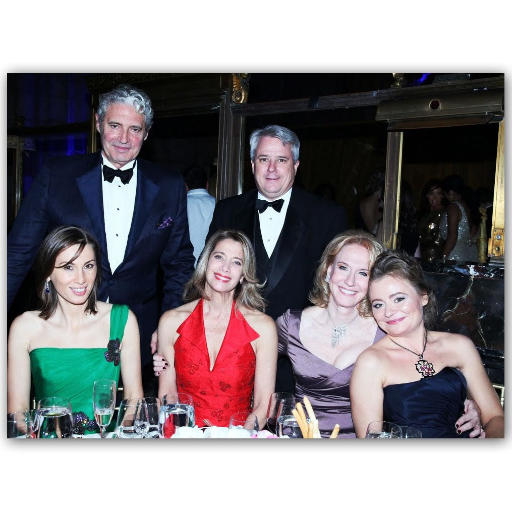MARIA SOLDIER AND PRINCESS GRACE PATRONS AND MICHAEL NOURI