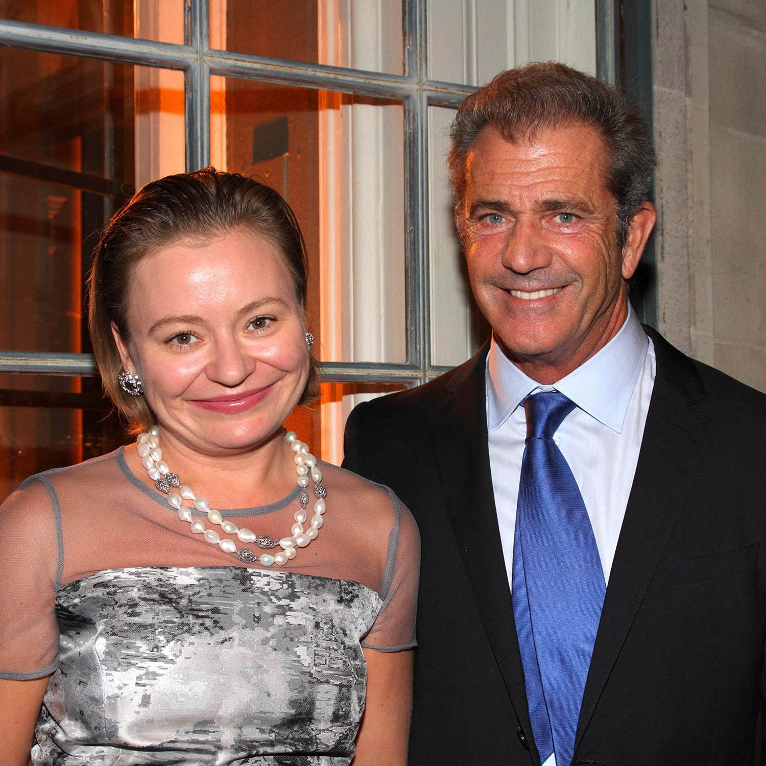 MEL GIBSON AND MARIA SOLIDER