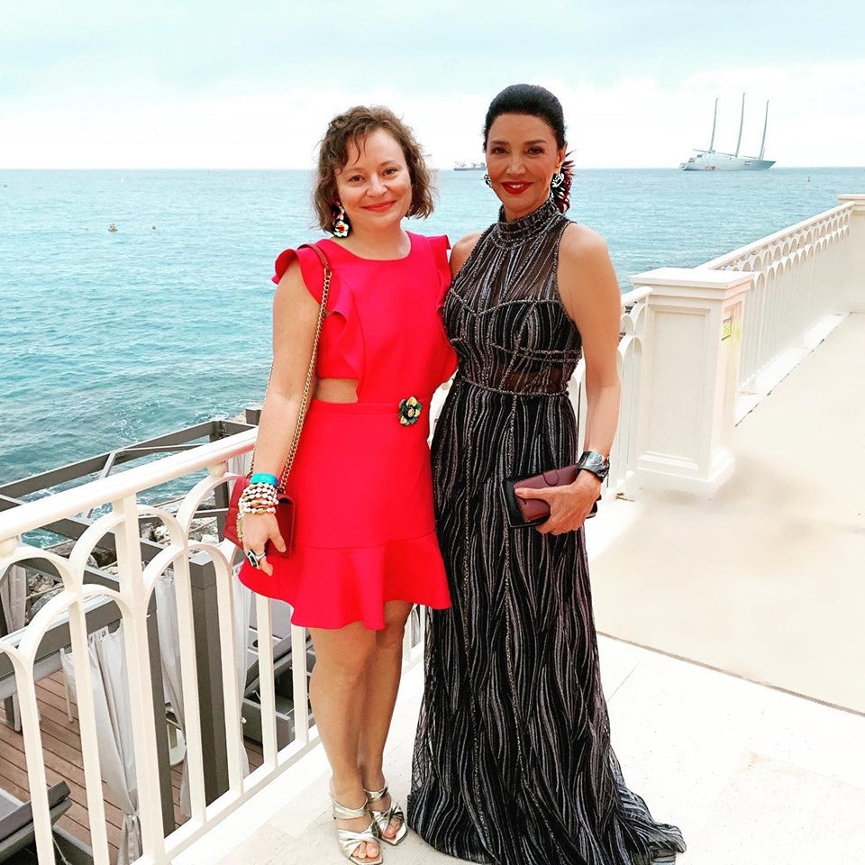 Alex Soldier Jewels Spotted at Monte-Carlo TV Festival