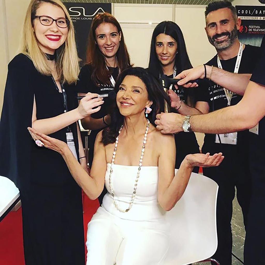 Shohreh Aghdashloo and The Glam Squad