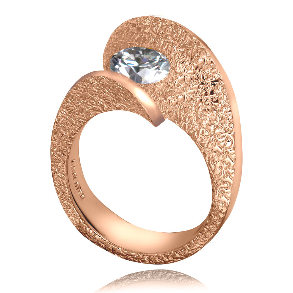 Dance Of Life Lava Engagement Ring