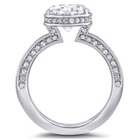 Eternal Love Diamond Sphere Engagement Ring