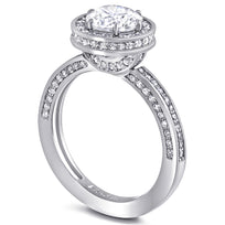 Eternal Love Diamond Elevated Halo Engagement Ring