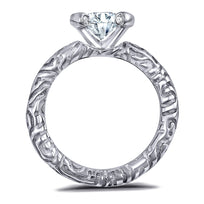 Valentine Diamond Sage Engagement Ring