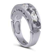 Hidden Realms Diamond Valentine Wedding Band