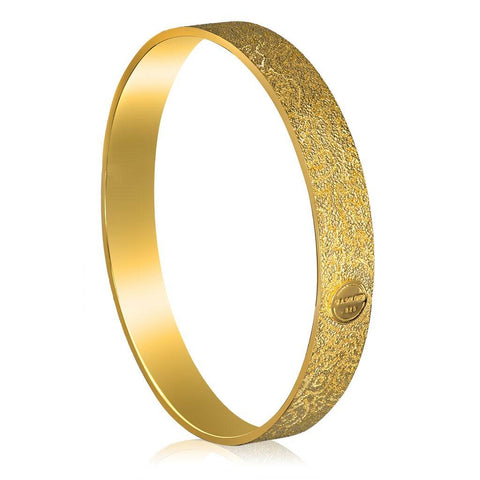 Sterling Silver and Gold Cora Bangle