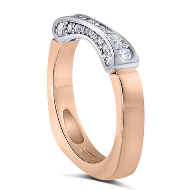 Serendipity Diamond Wedding Band