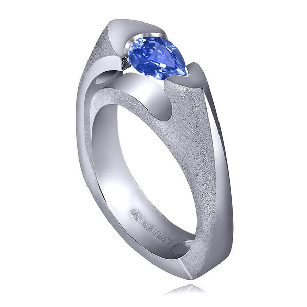 Passion Tanzanite Ring In White Gold