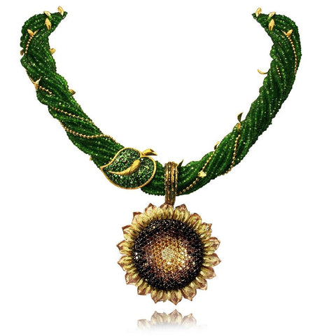 SUNFLOWER NECKLACE SUITE