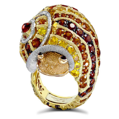 Sunny The Snail Ring