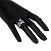 Modern Sensuality Diamond Crown Unity Engagement Ring
