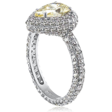 Stardust Diamond Pear Shape Engagement Ring