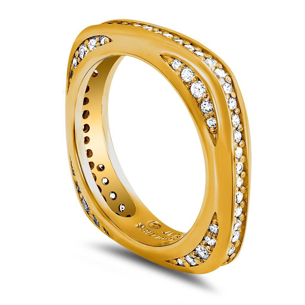 MODERN SENSUALITY WEDDING BAND