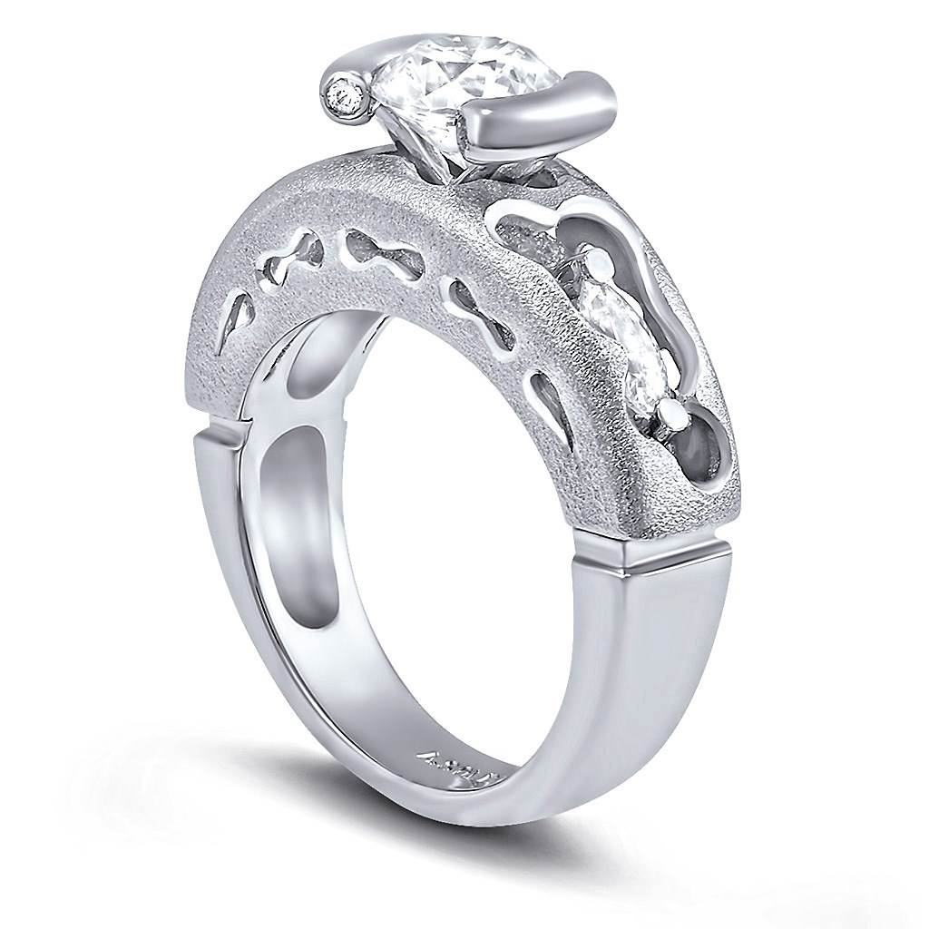 Hidden Realms Diamond Valentine Engagement Ring